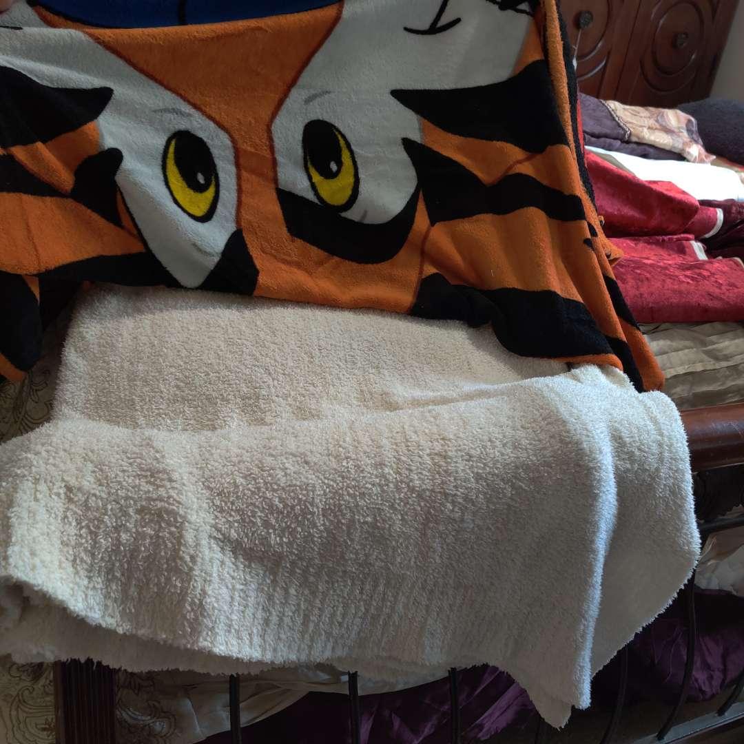 113 Tony the tiger blanket