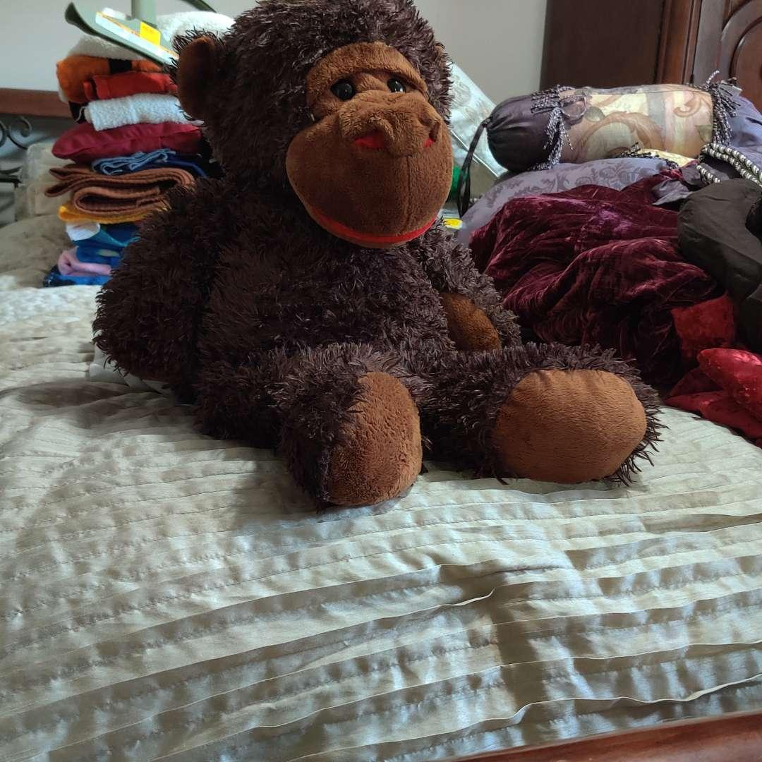 115 very soft stuffed monkey