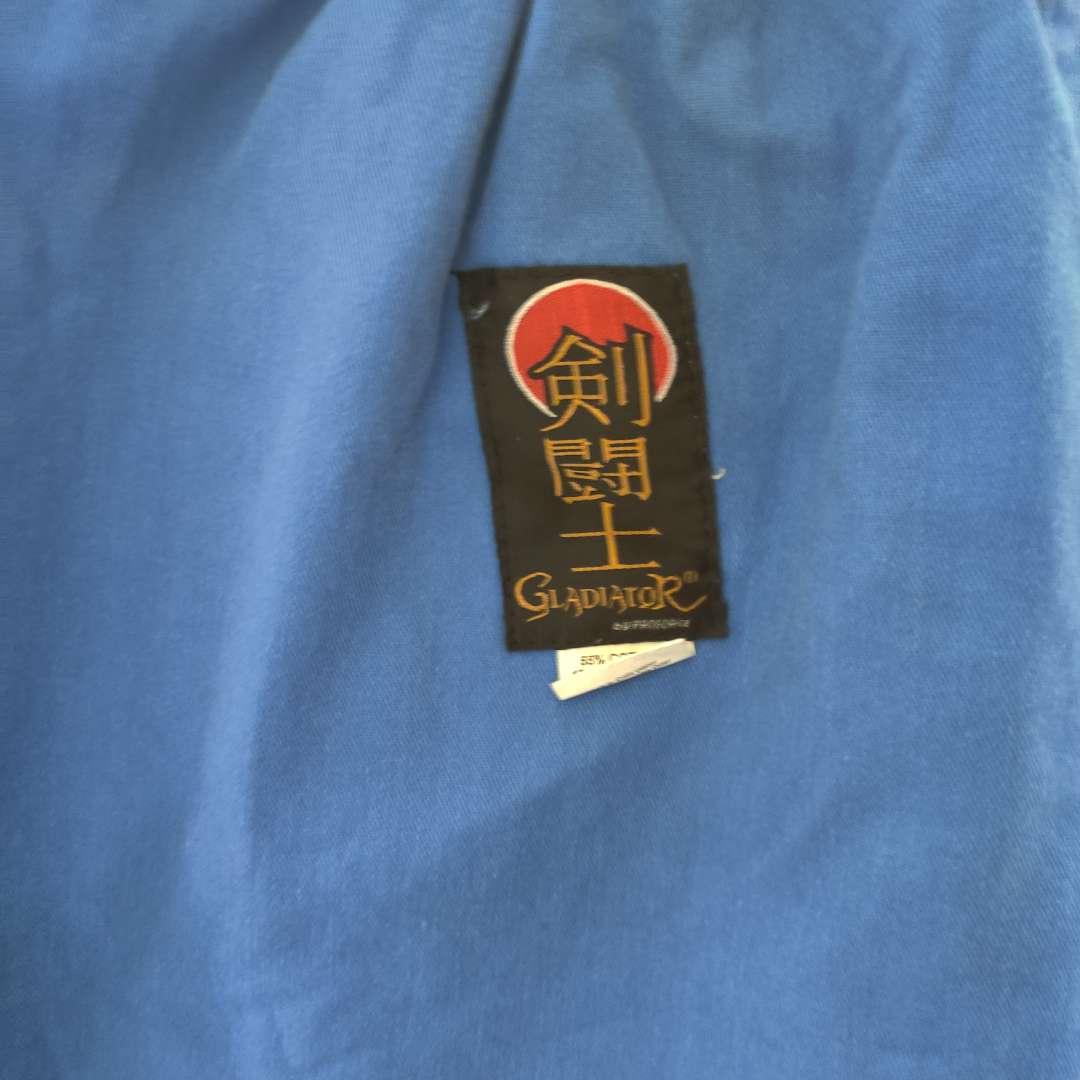 121 blue taekwondo set size #5