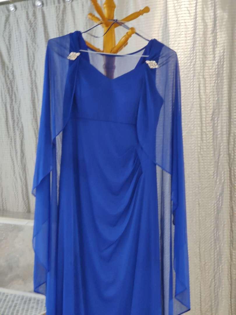 130 blue size 8 dress