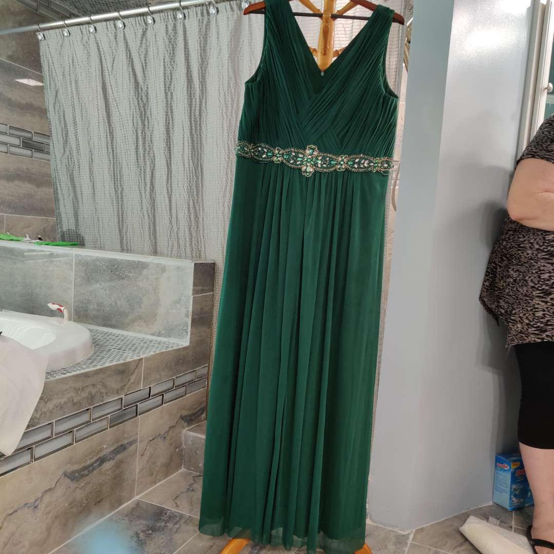 148 Jessica Howard size 16w new with tags green dress
