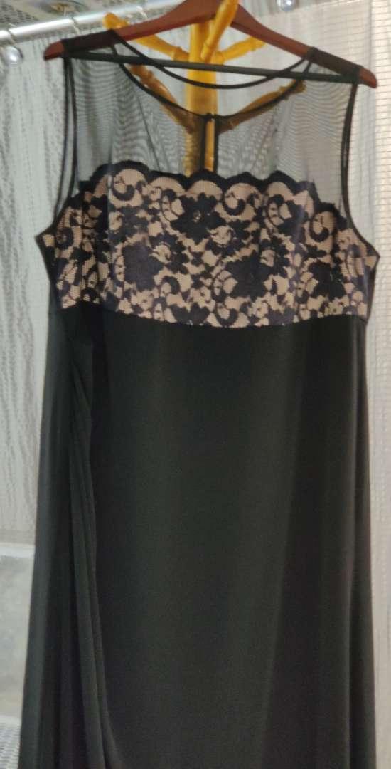 162 Eliza j New York black and tan size 20w dress