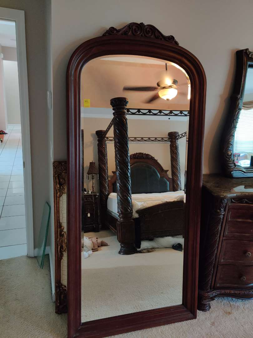 246 very nice outstanding 80 in tall 37-in wide floor mirror great condition
