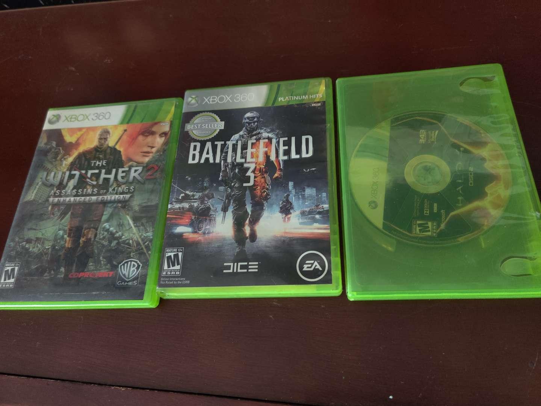 296 three Xbox 360 games