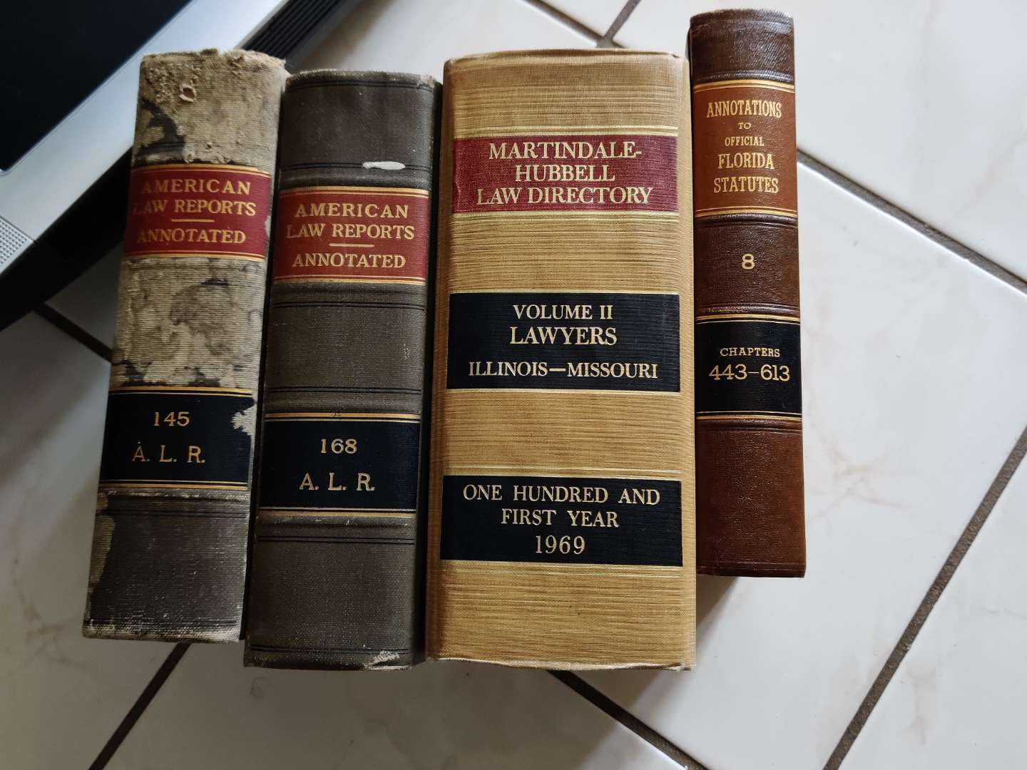 356   four older law books 1969 is one of them
