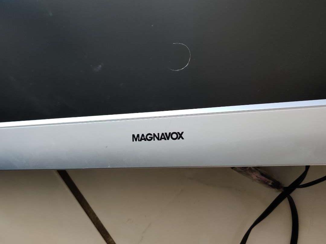 359 Magnavox flat screen TV 20-in as is untested