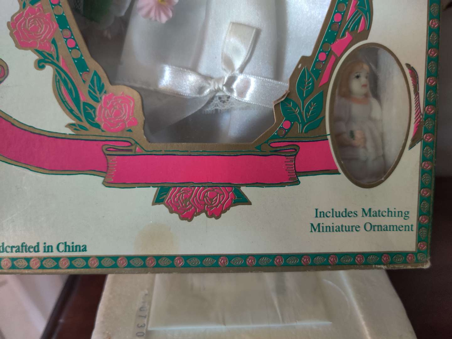 378 limited edition collector's doll in box never removed