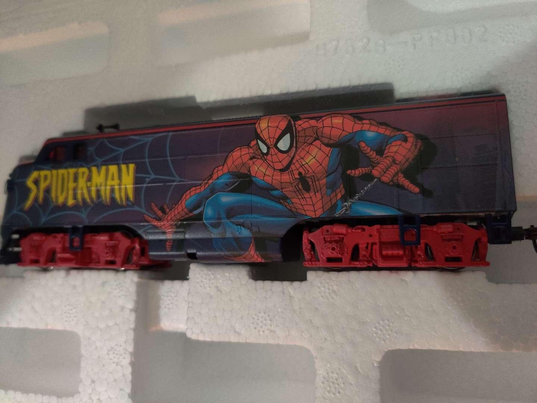 379 marvel limited edition diecast train car with COA in styrofoam
