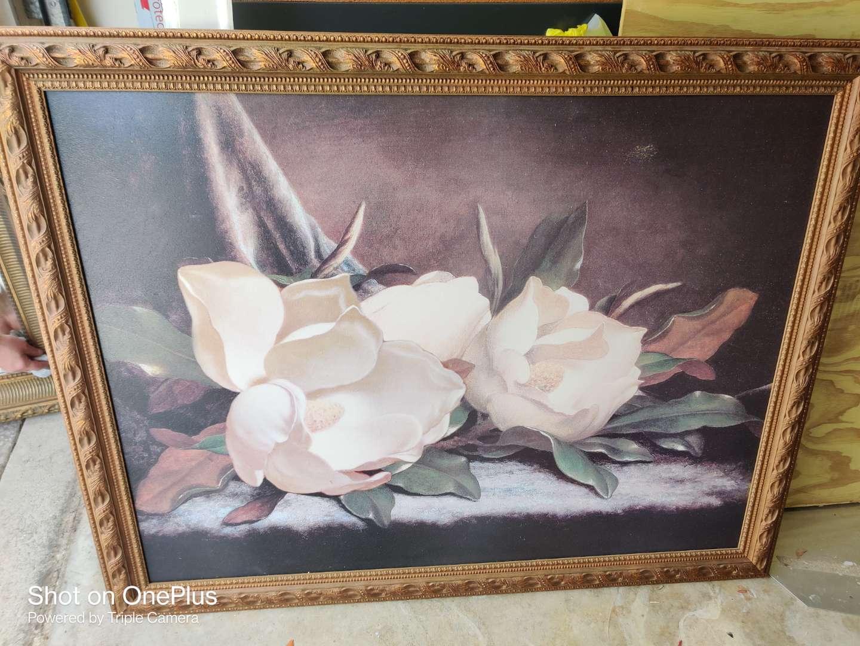 382 large magnolia picture 54x42 in