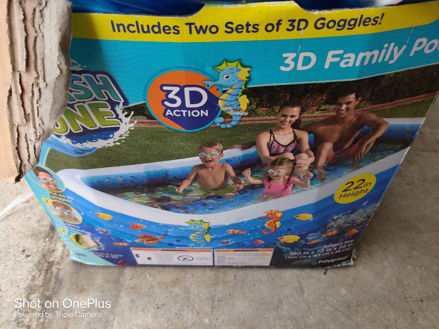 395 flash zone 3D family pool