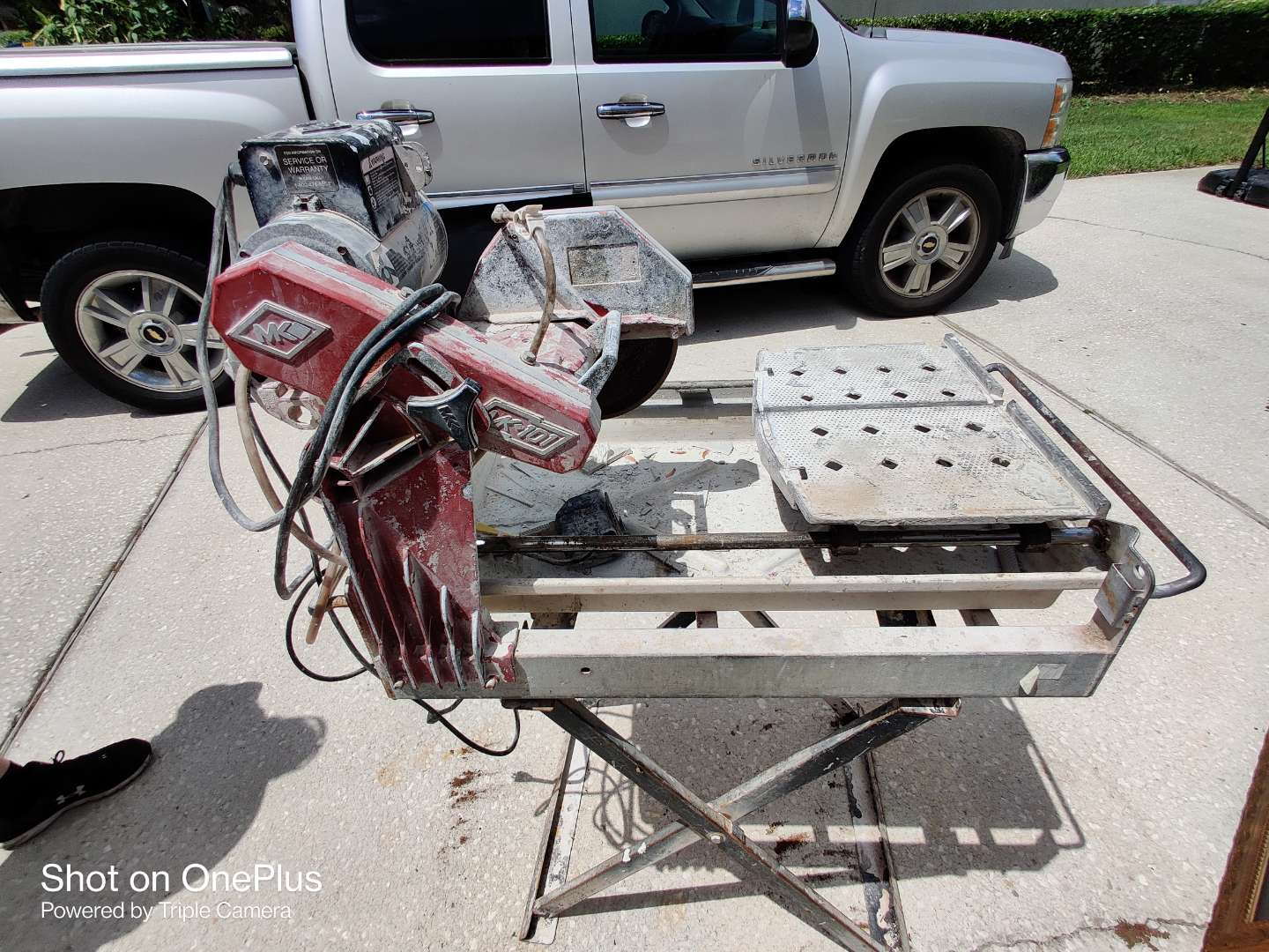 399 MK 101 tile cutter with stand