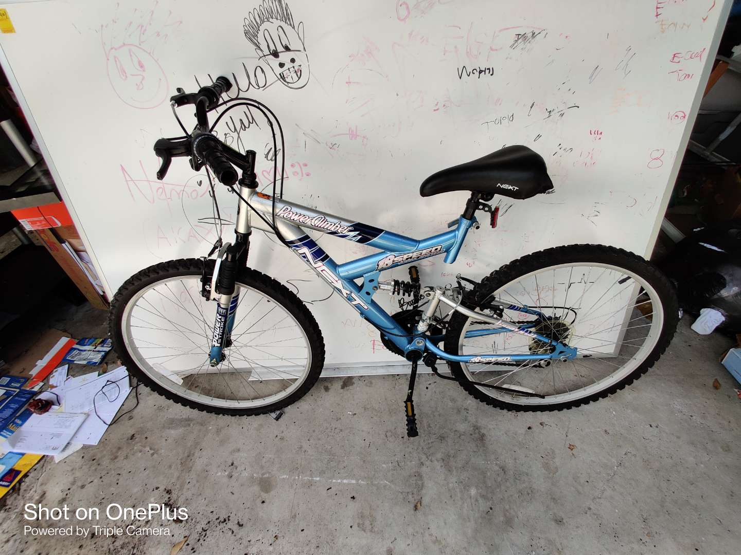 405 power climber 18 speed bicycle like new