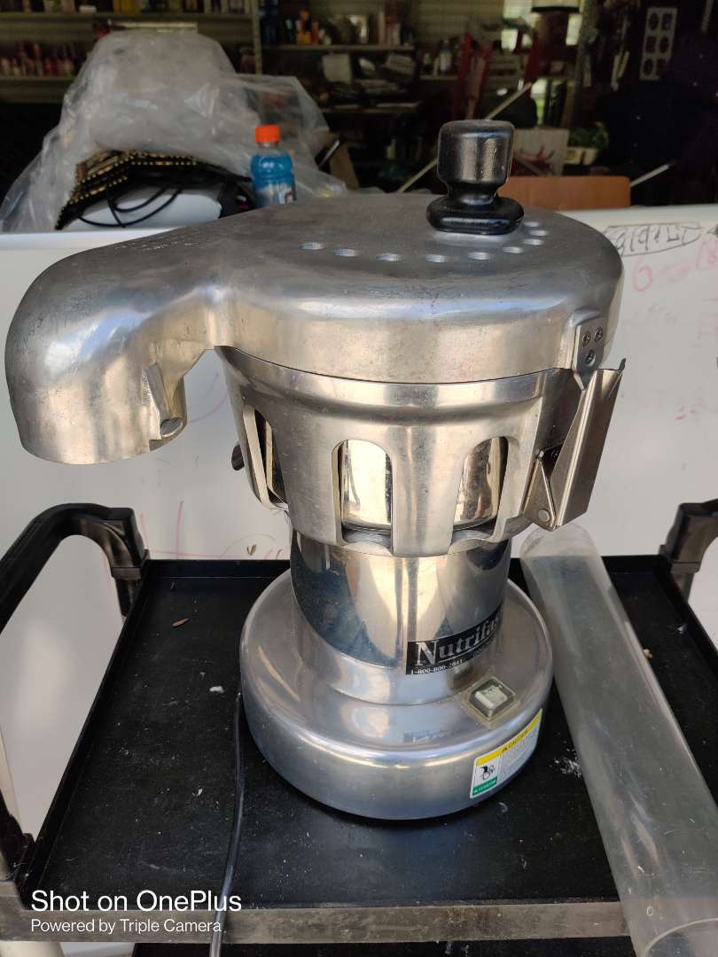 412 nutrifaster n450 restaurant commercial juicer juice extractor used very little