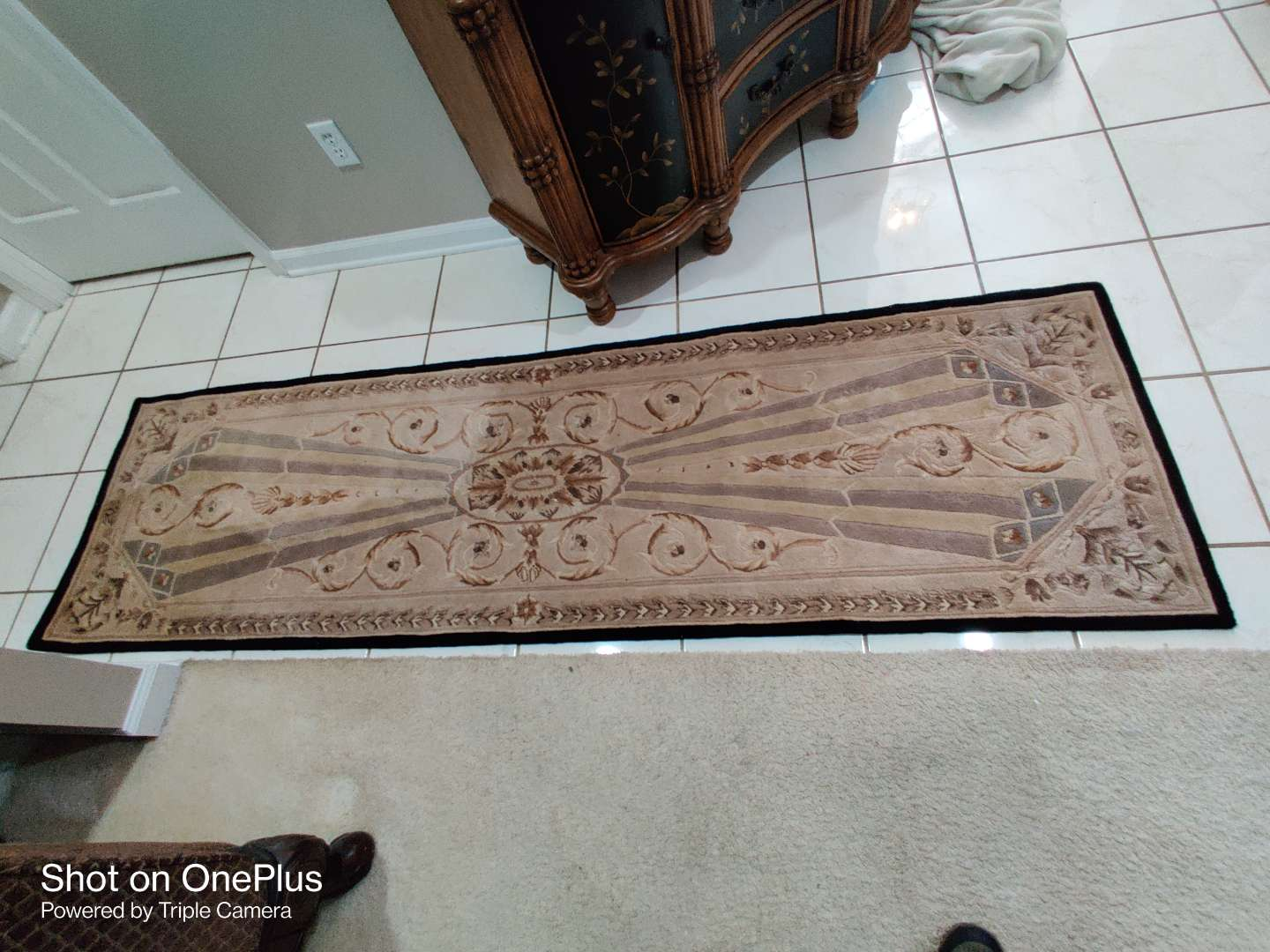 417 treasures of the Orient runner very nice good quality rugs
