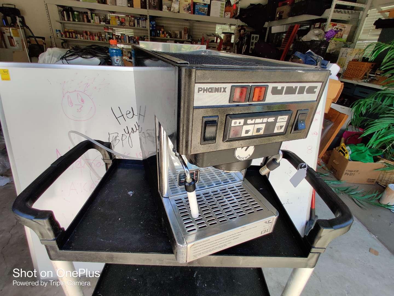 419 Phoenix unic espresso machine commercial