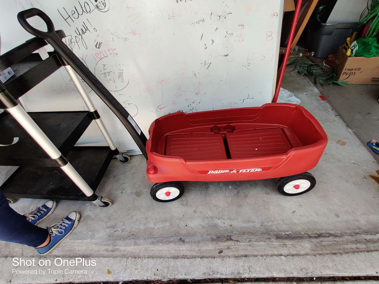 423 radio flyer very nice two-seater wagon great condition
