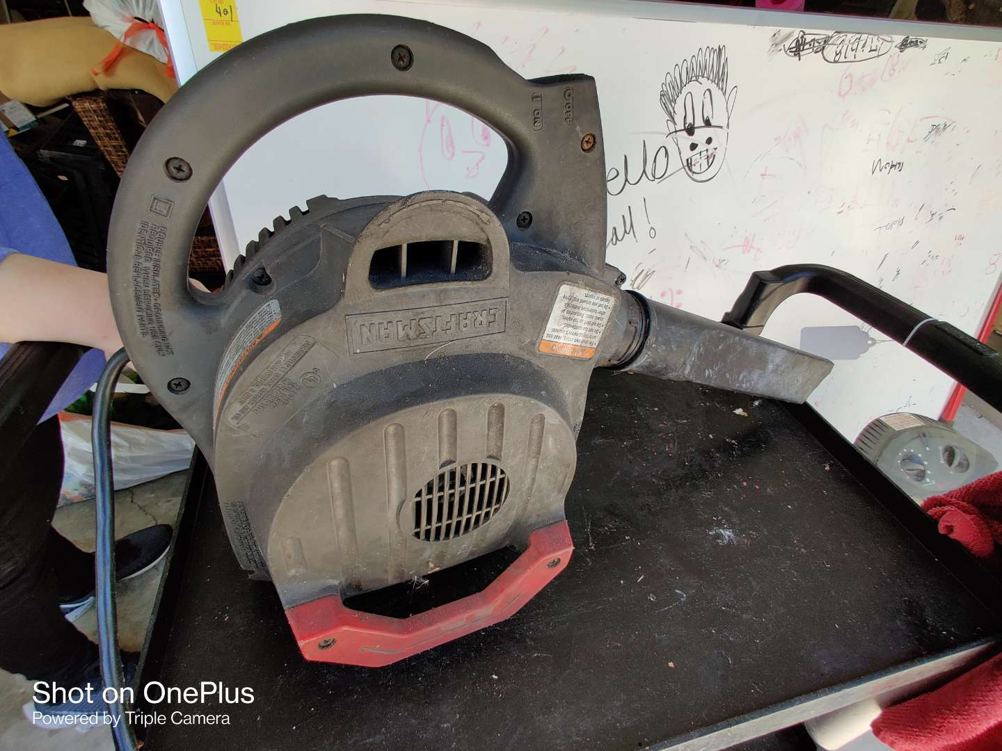 427 Craftsman electric blower works great