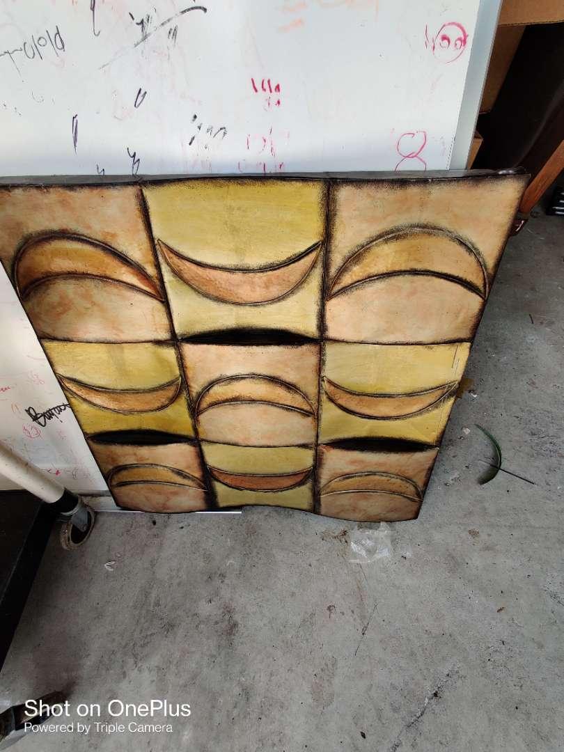 454 metal artwork 29x29 wall hanging