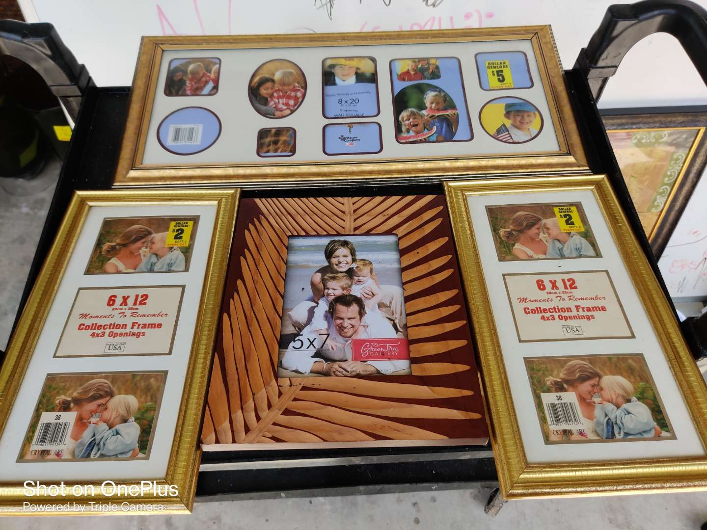 462 Lot of four picture frames