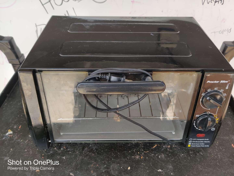 468 Hamilton Beach black toaster oven