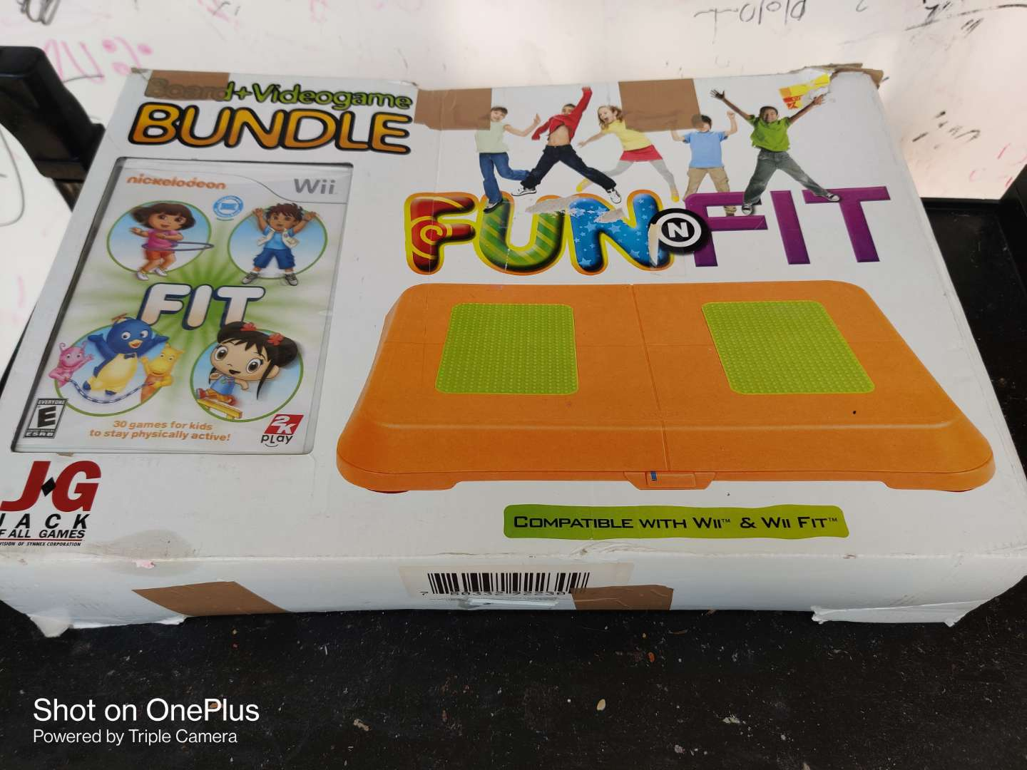 471 wii fit for kids in box