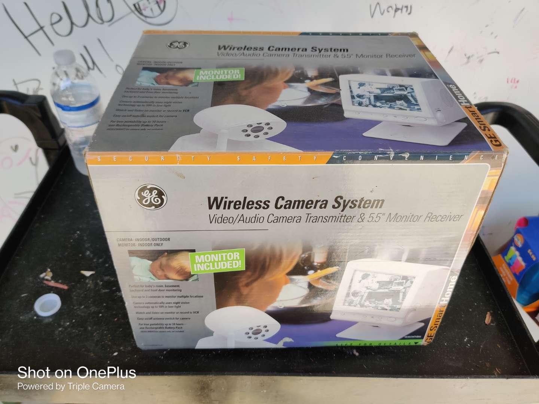 487 GE wireless camera monitor system