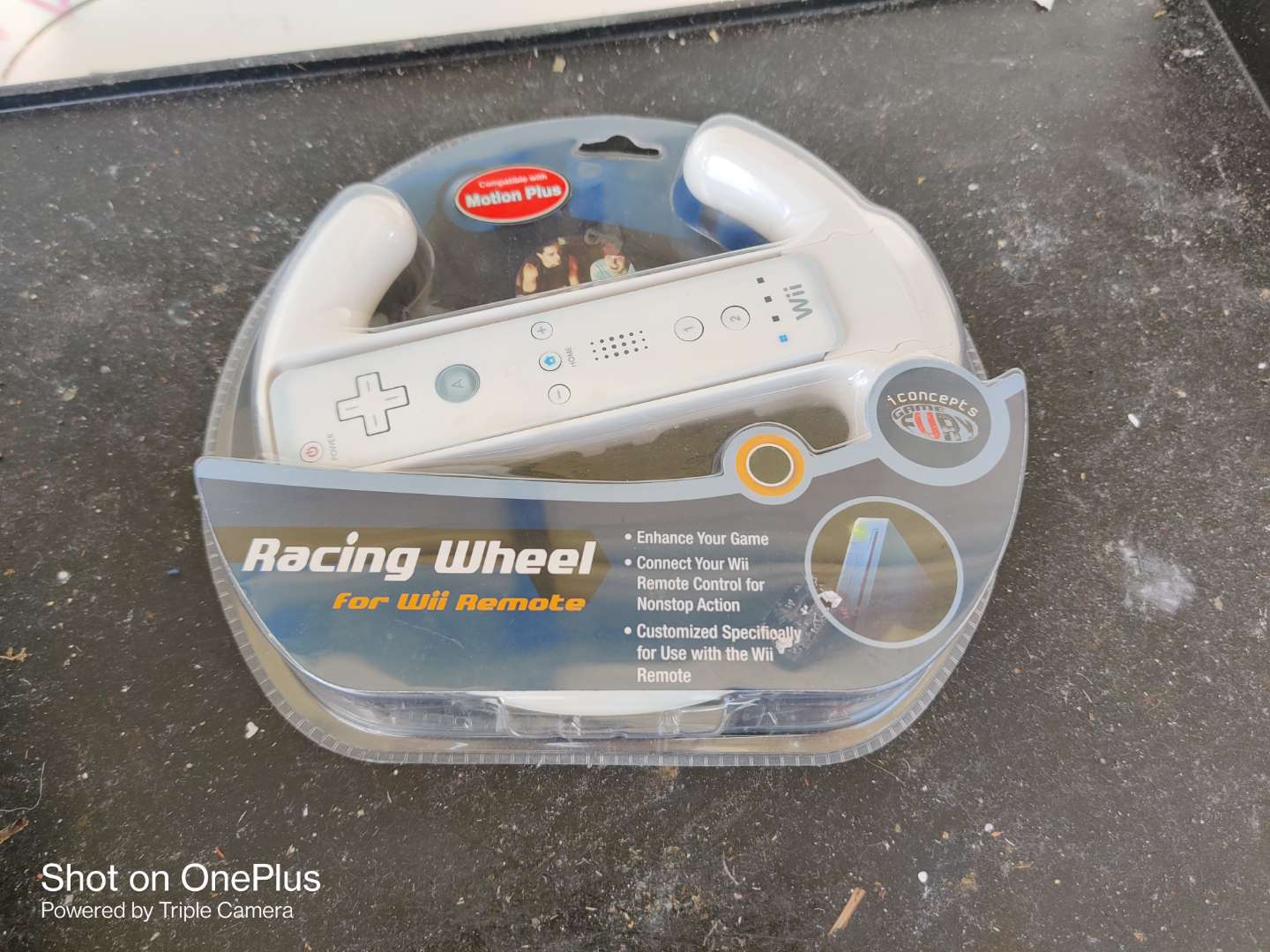 502 racing wheel for the Wii remote