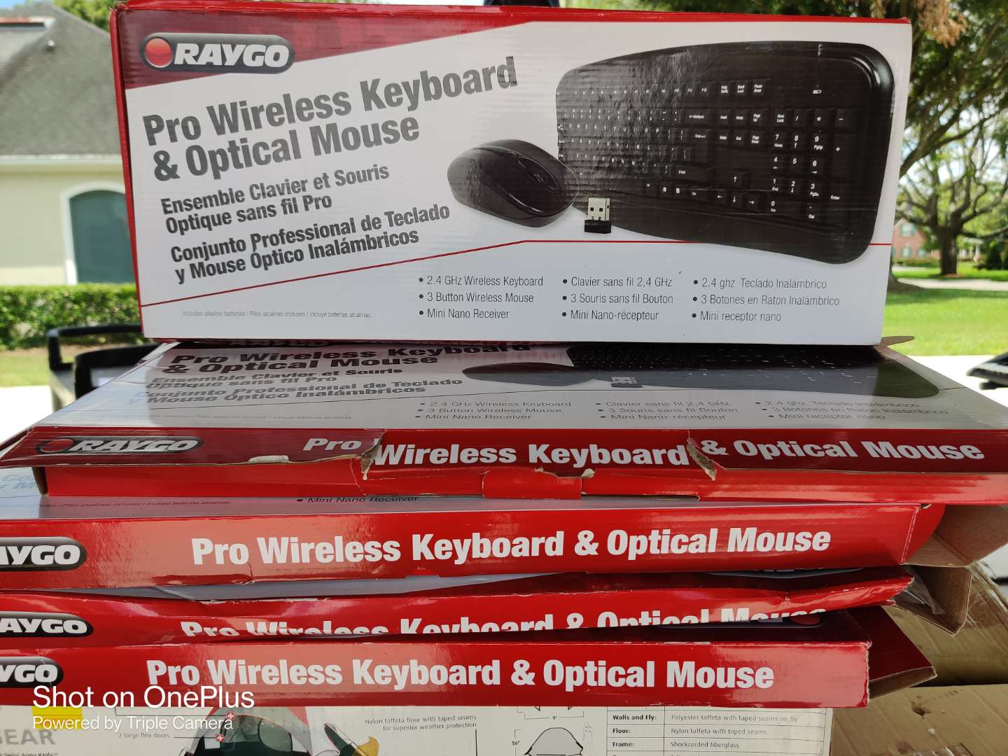 515 lot of five wireless keyboards in the box no mouse only keyboards