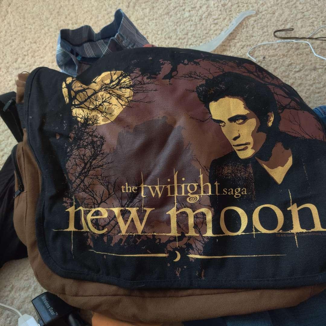 583. Twilight canvas bag