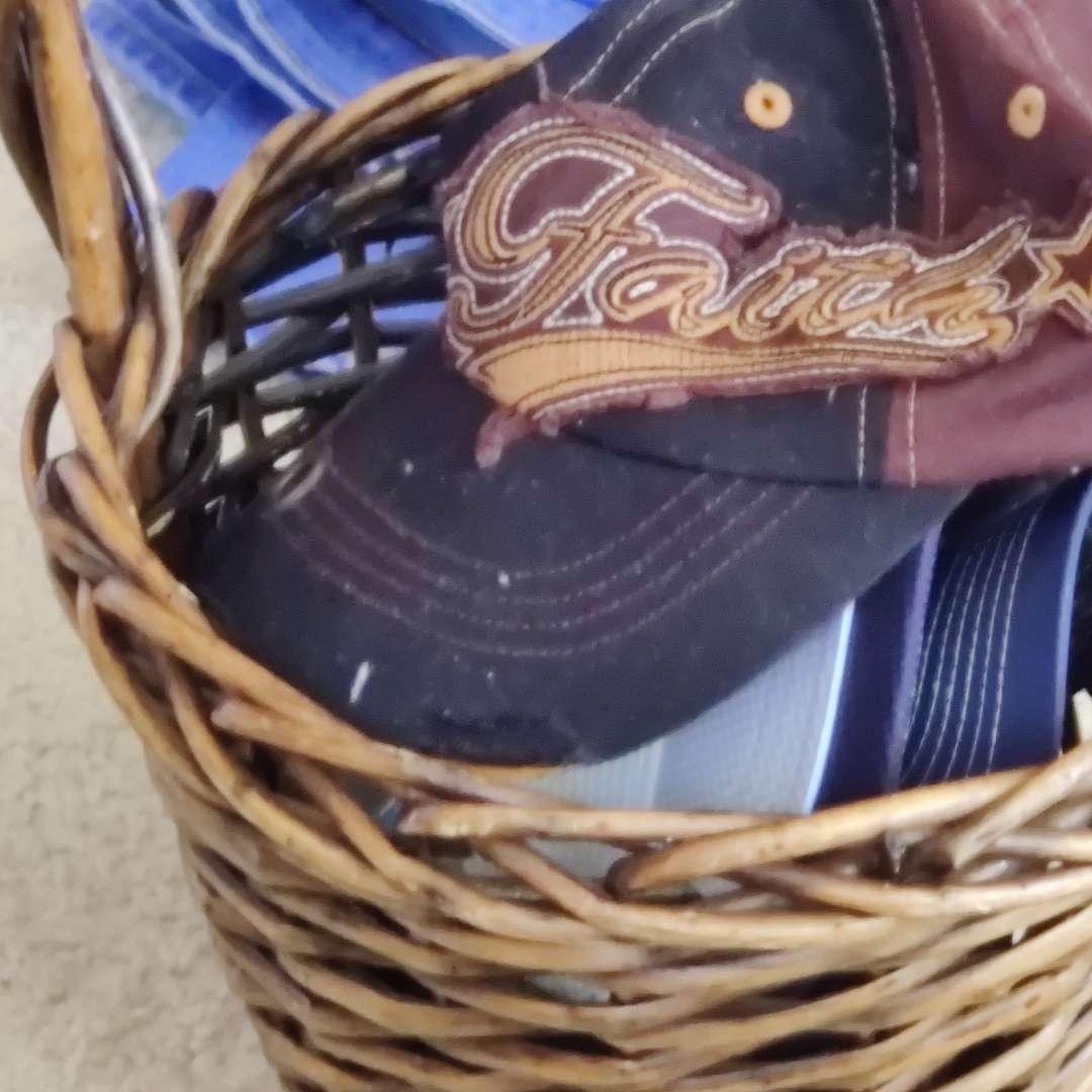 585 basket of hats