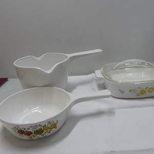 Lot # 6  Nice collection of Corning Ware