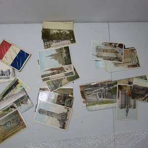 Lot # 50  Great collection of vintage post cards