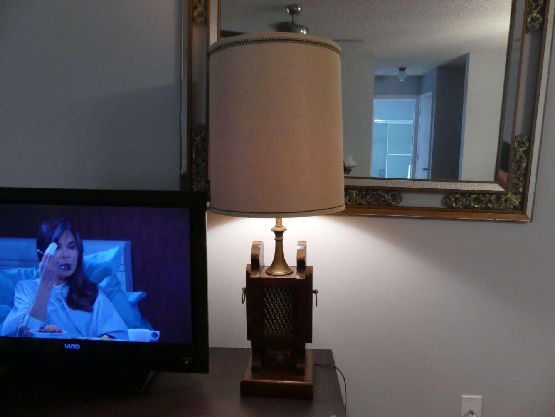 Lot #8 Unique Table Lamp