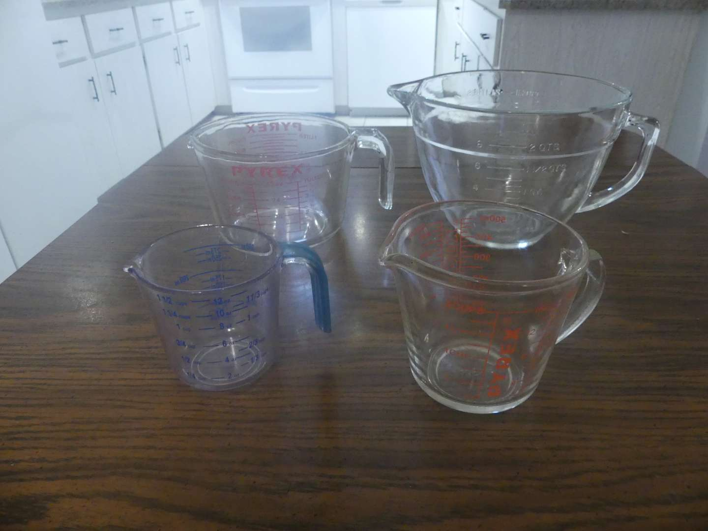 Lot #39 4 Measuring Cups