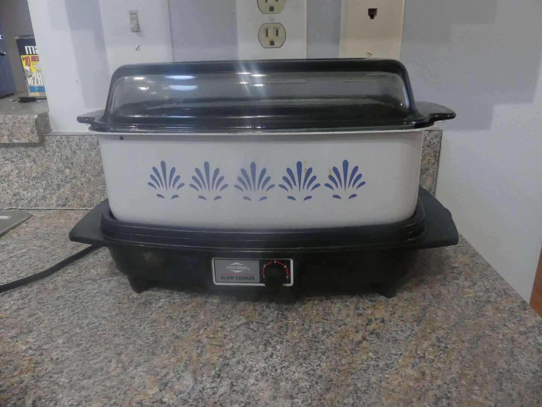 Lot #52 Vintage West Bend Slow Cooker