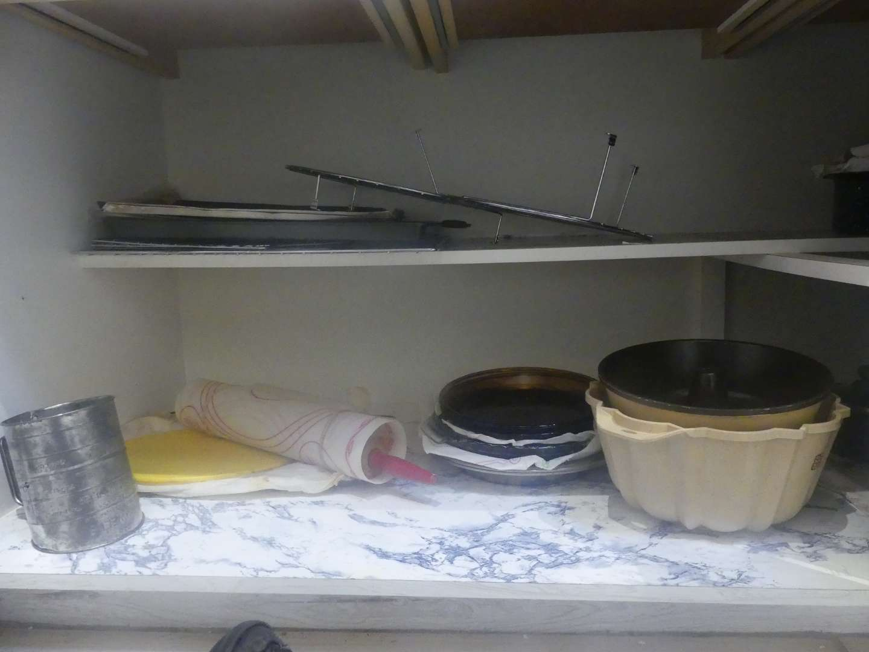 Lot #55 Cupboard of Baking Items