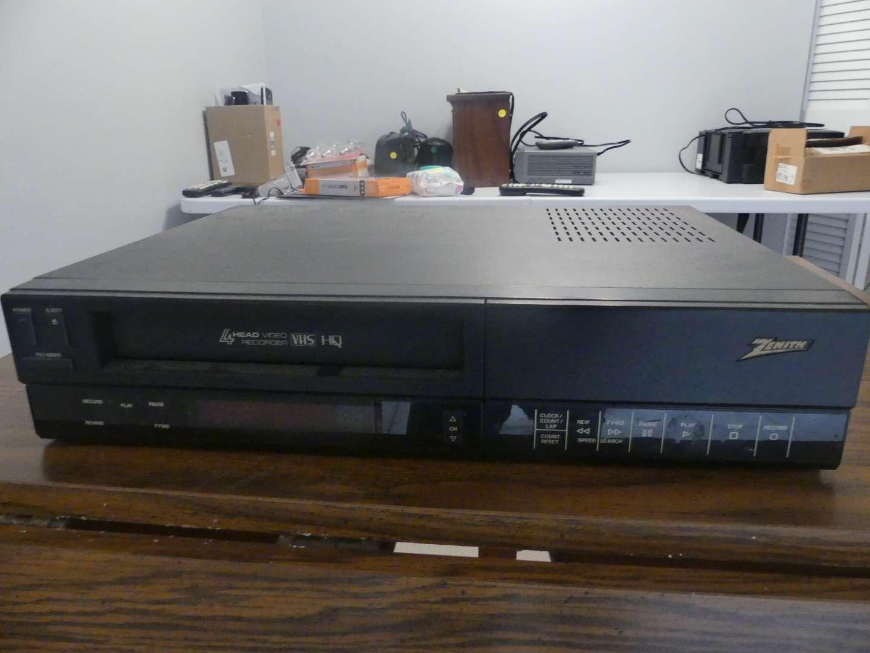Lot #65 Zenith VRD200 4-Head VHS Player/Recorder