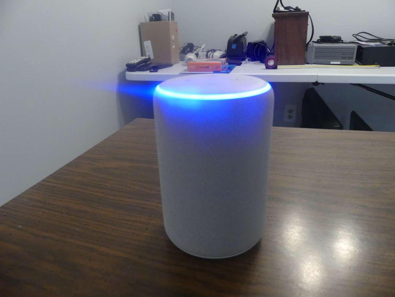 Lot #74 Amazon Echo Plus (2nd Generation) R9P2A5 - Sandstone