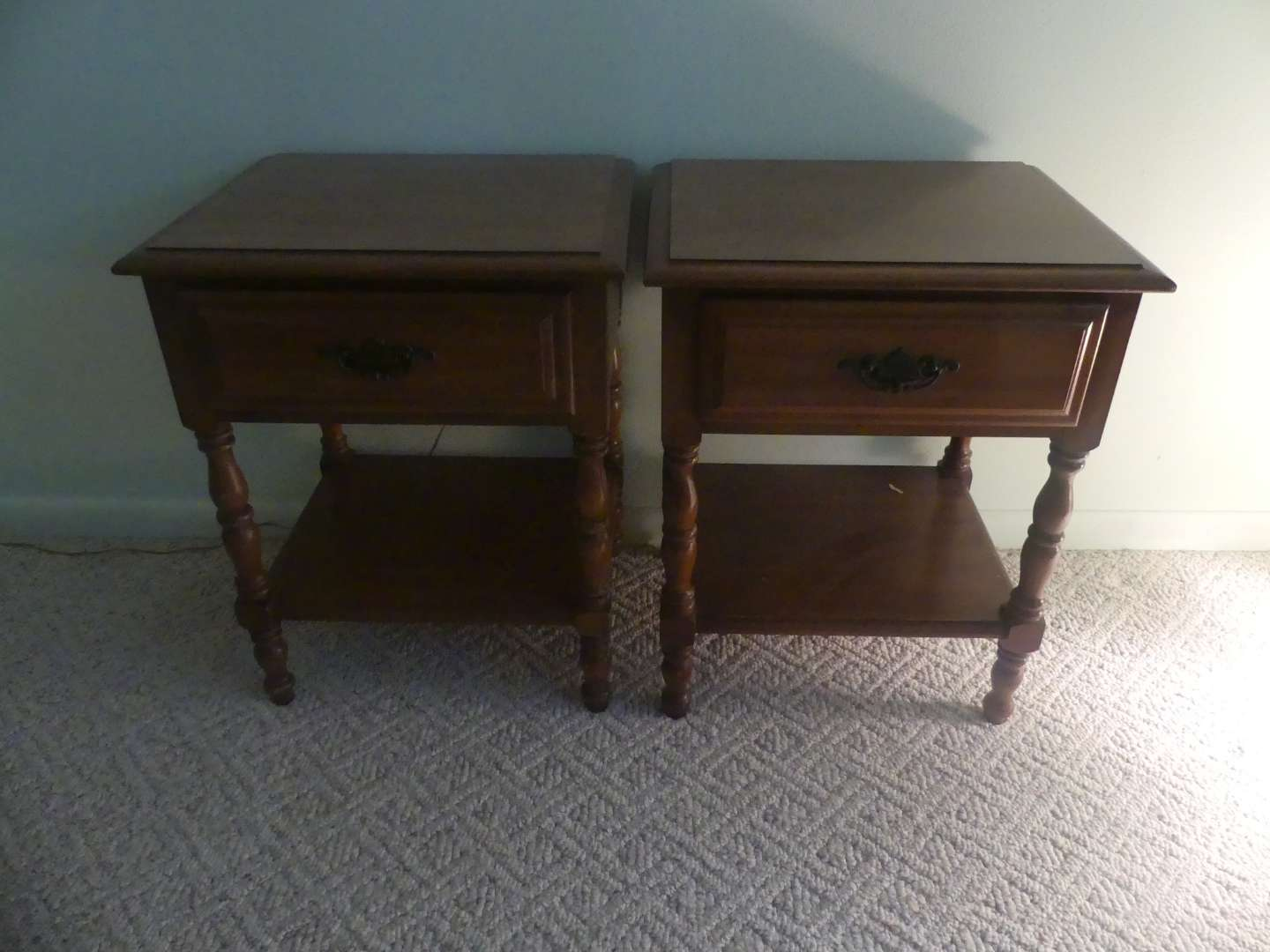 Lot #80 Pair of Bedside Tables