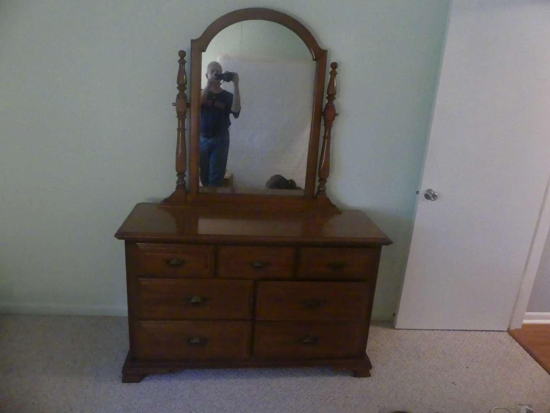 Lot #81 Sumter Cabinetry div Korn Furniture Dresser with Mirror
