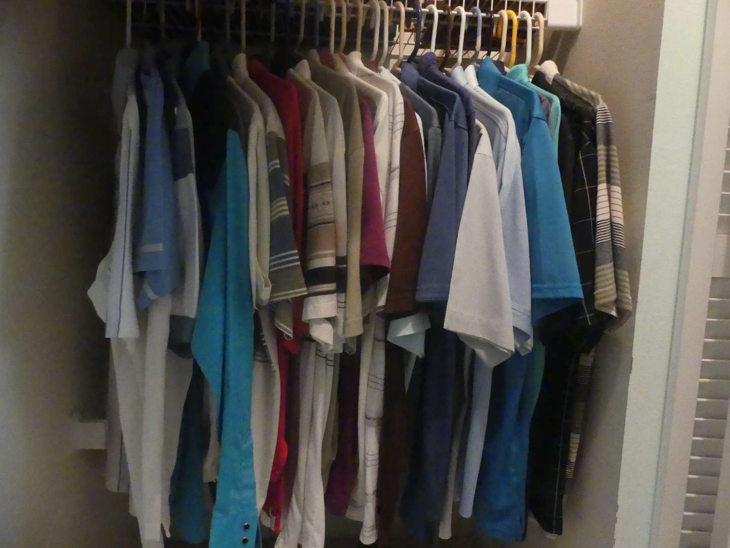 Lot #82 Lot of Men's Shirts - Mostly Polo, Mostly Size M