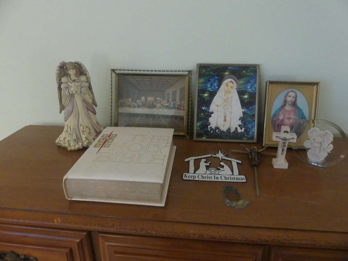 Lot #108 Lot of Religious Items