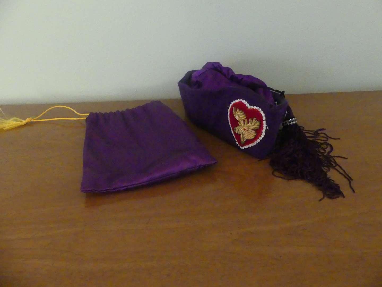 Lot #120 Vintage Official Legion TAH (Moose) Auxilliary Hat