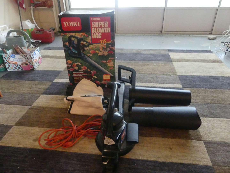 Lot #167 Toro 215mph Super Blower/Vac Model 51591 - Fits Any Extension Cord