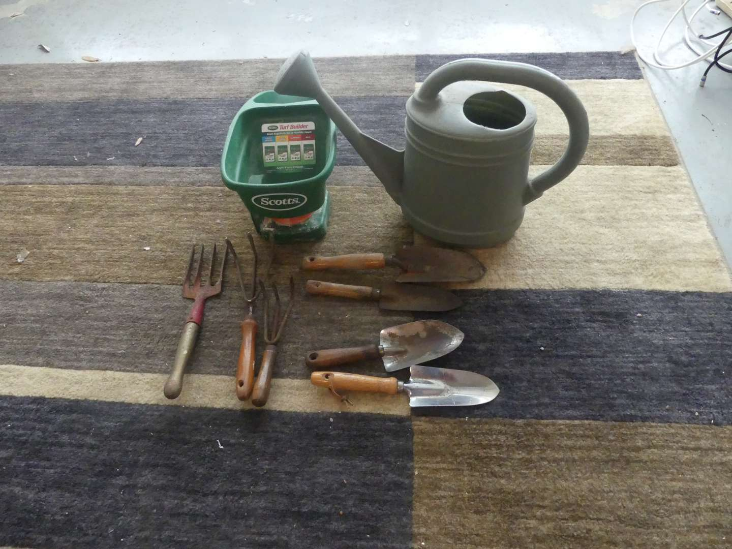 Lot #171 Lot of Gardening Tools and Watering Can