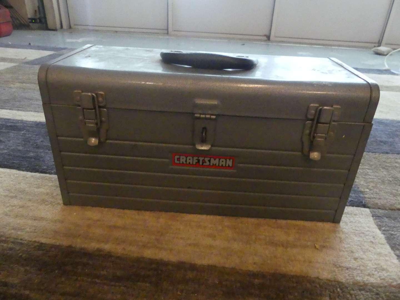 Lot #173 Vintage Craftsman Tool Box