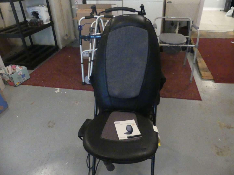 Lot #185 HoMedics Shiatsu Massage Cushion SMB 200H