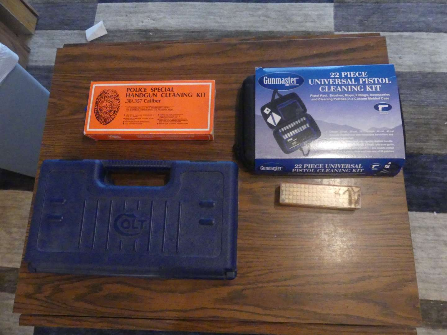 Lot #190 Gun Cleaning and Ammo (See Description)