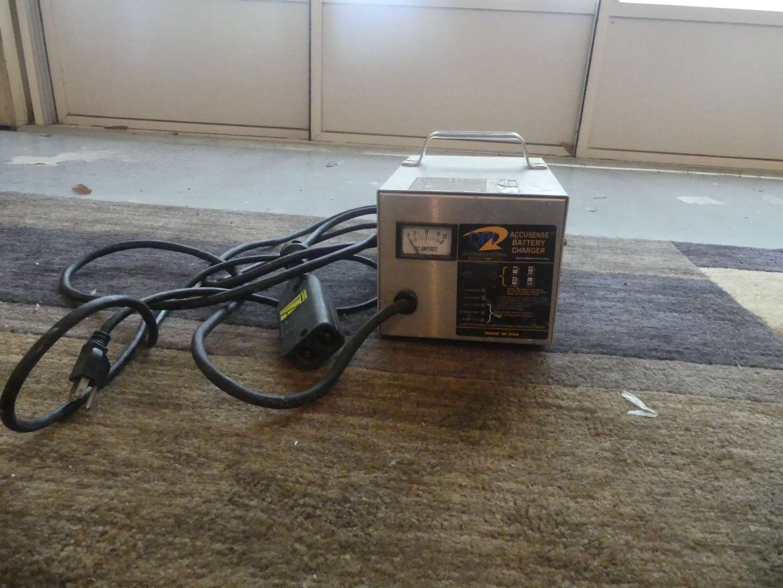 Lot #192 AccuSense DPI 36v Golf Cart Battery Charger
