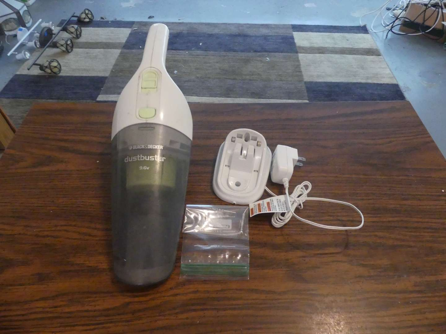Lot #197 Black+Decker Dust Buster with Wall Charger